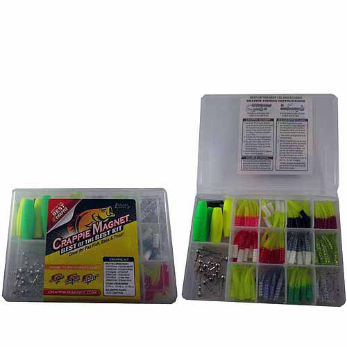 Crappie Magnet Best of the Best Kit 117 pc Box by Generic