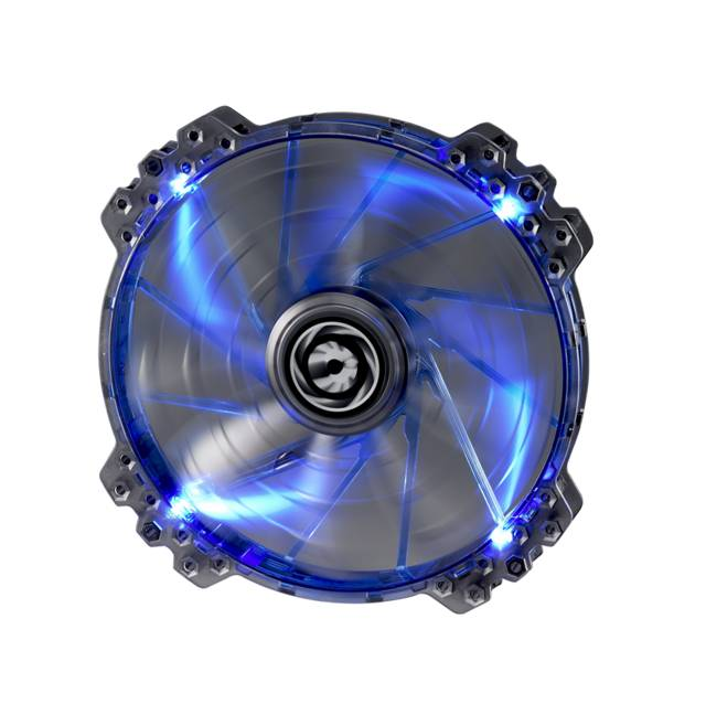 Bitfenix BFF-LPRO-20025B-RP Spectre Pro 200mm Blue Led Case Fan