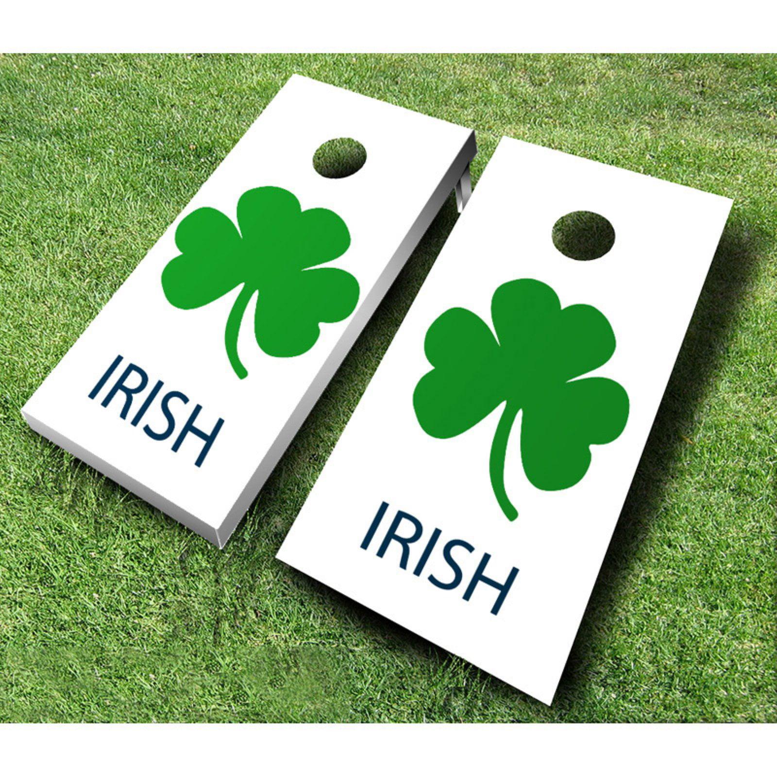 Irish Tournament Cornhole Set by AJJ Cornhole