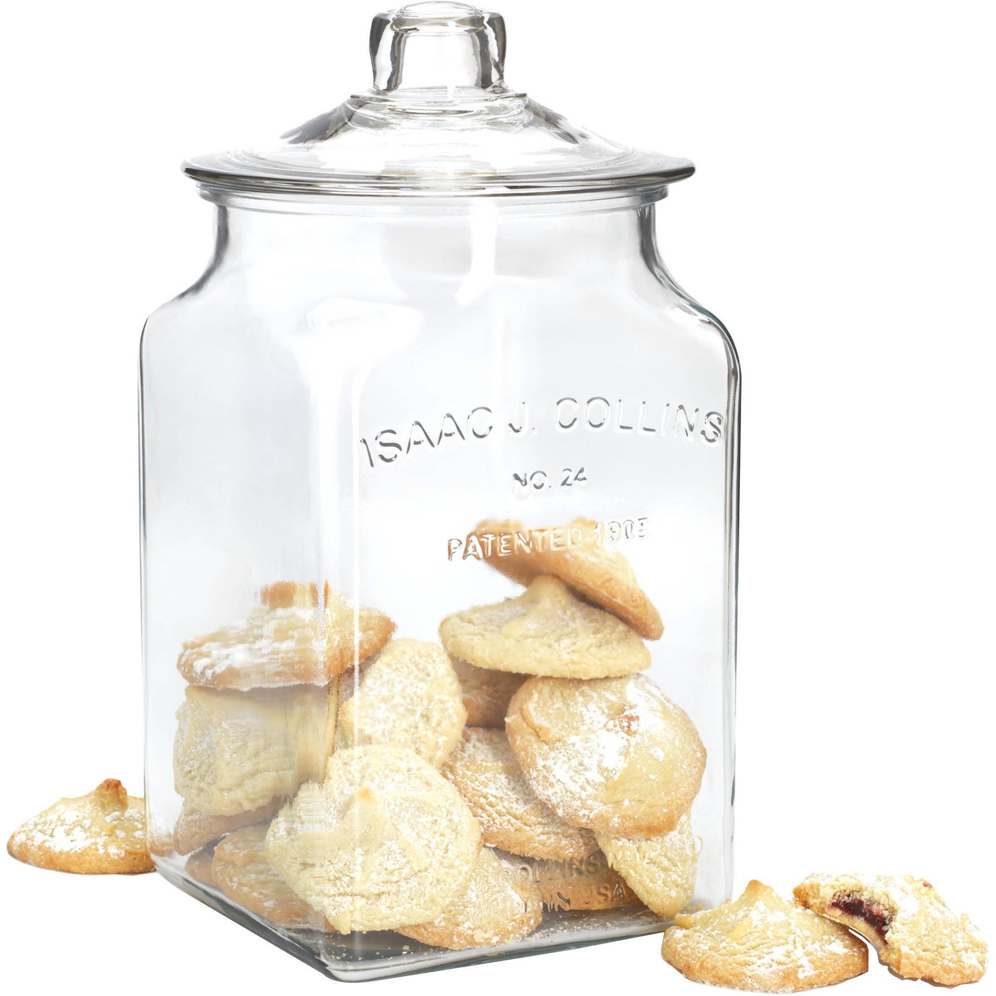 Anchor Hocking 1.5 Gallon IJ Collins Square Glass Jar
