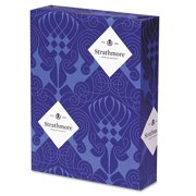 Strathmore 190504 500-Sheets/Ream 8-1/2 in. x 11 in. 24 lbs. Premium Sulphite Business Stationery - White