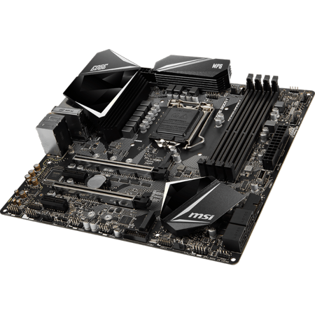 Celeron Pcie Motherboard (MPG Z390M GAMING EDGE AC Micro ATX Motherboard - Socket LGA 1151 - Intel Z390 Chipset - Support DDR4-4500(OC) - 2x PCIe 3.0 x16 - 2x M.2 Socket3 - USB)
