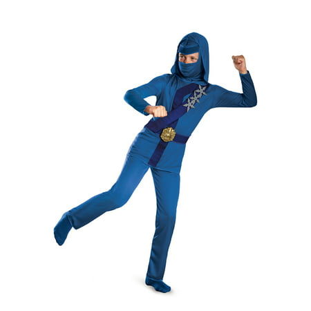 Blue Thunder Ninja Child - Thunder Valley Halloween