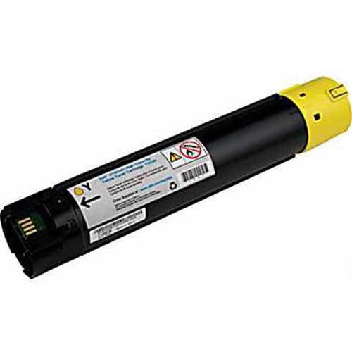 Universal Inkjet Premium Compatible Dell 330-5852/T222N Cartridge, High-Capacity Yellow