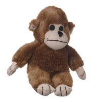 "Multipet Look Who's Talking Monkey Dog Toy - 7"""