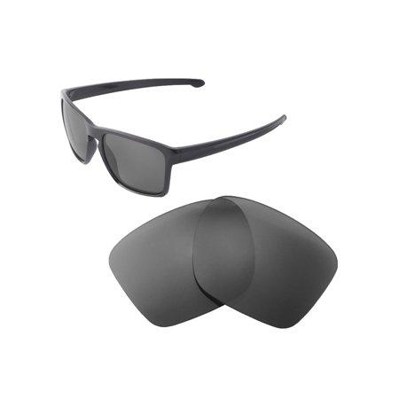 106610477f Walleva - Walleva Black Polarized Replacement Lenses for Oakley Sliver XL  Sunglasses - Walmart.com