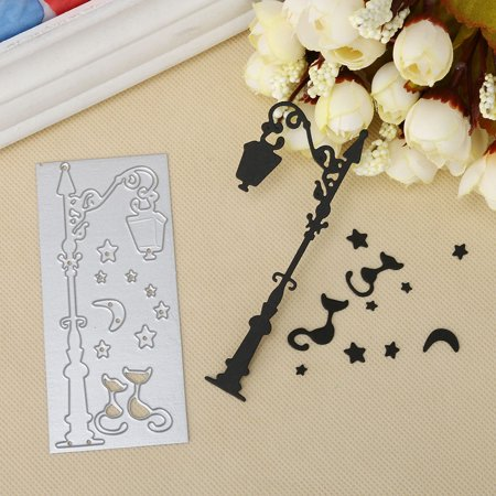 Outtop Merry Christmas Metal Cutting Dies Stencils Scrapbooking Embossing DIY Crafts D - Christmas Scrapbook