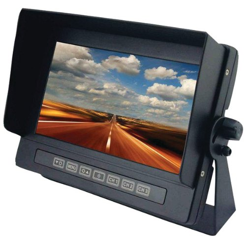 "Crimestopper Securview Sv-8700 7"" Lcd Car Display - Black - 800 X 480 - Dash Mount (sv-8700_7)"