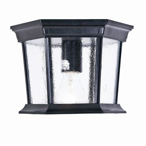 Acclaim Lighting 5275 Dover 1 Light Outdoor Ceiling Fixture with Clear Seeded Gl by Acclaim Lighting