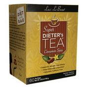 Super Dieters Tea-Cinnamon Spice Laci Le Beau 60 Bag