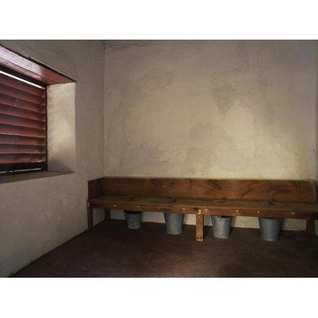 Four Seater Lavatory, St. Nicholas Abbey, Barbados Print Wall Art