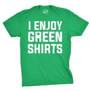 I Enjoy Green Shirts T Shirt Funny Tee For Saint Pattys Day Saint Patricks Cool