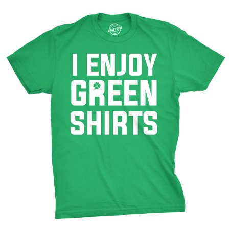 Saint Pattys Day T-shirts (I Enjoy Green Shirts Tshirt Funny Tee For Saint Patty's Day)