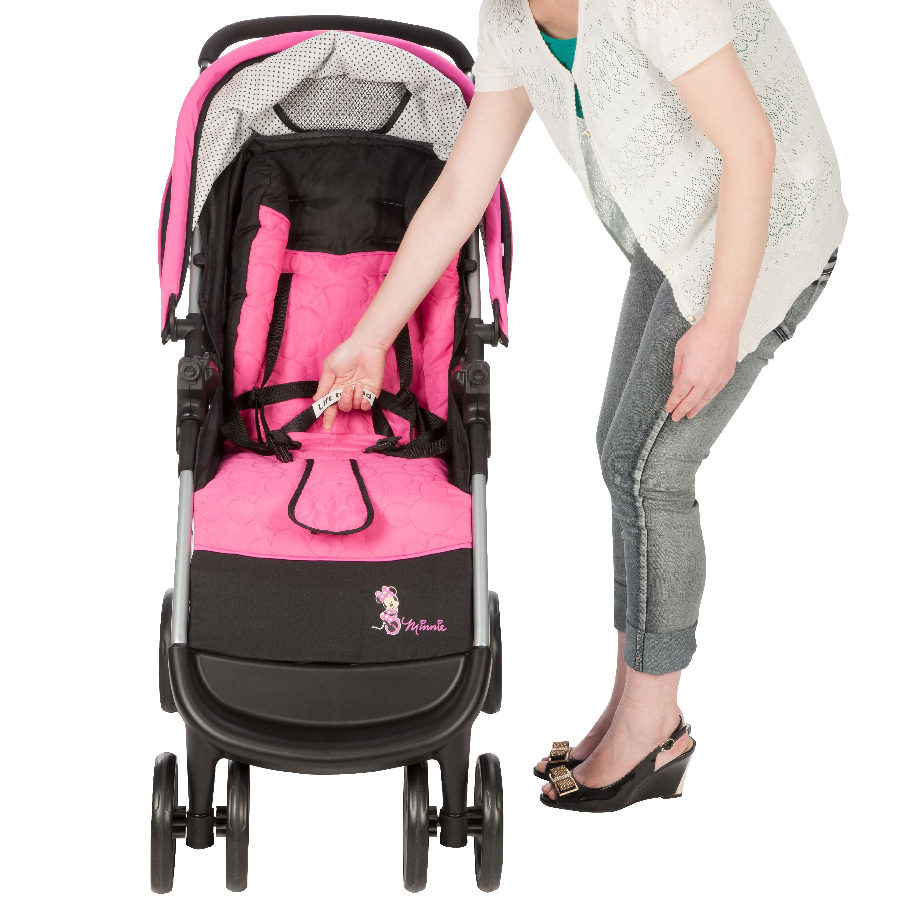 ab458717df09 Disney Baby Mickey Mouse Amble Quad Travel System, Mickey Silhouette ...