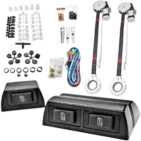 Kapsco Moto 2x Car Window Automatic Power Kit Electric Roll Up For Isuzu / Lincoln F-Type S-Type XF XFR XFR-S XJ XJ12 - image 8 of 8