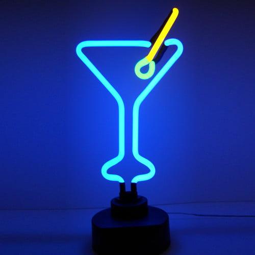 Neonetics Business Signs Martini Glass Neon Sign
