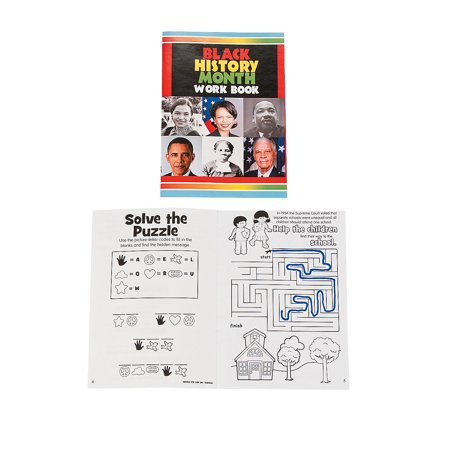 Black History Month Activities (Fun Express - Black History Month Activity Books - Stationery - Activity Books - Activity Books - 24)
