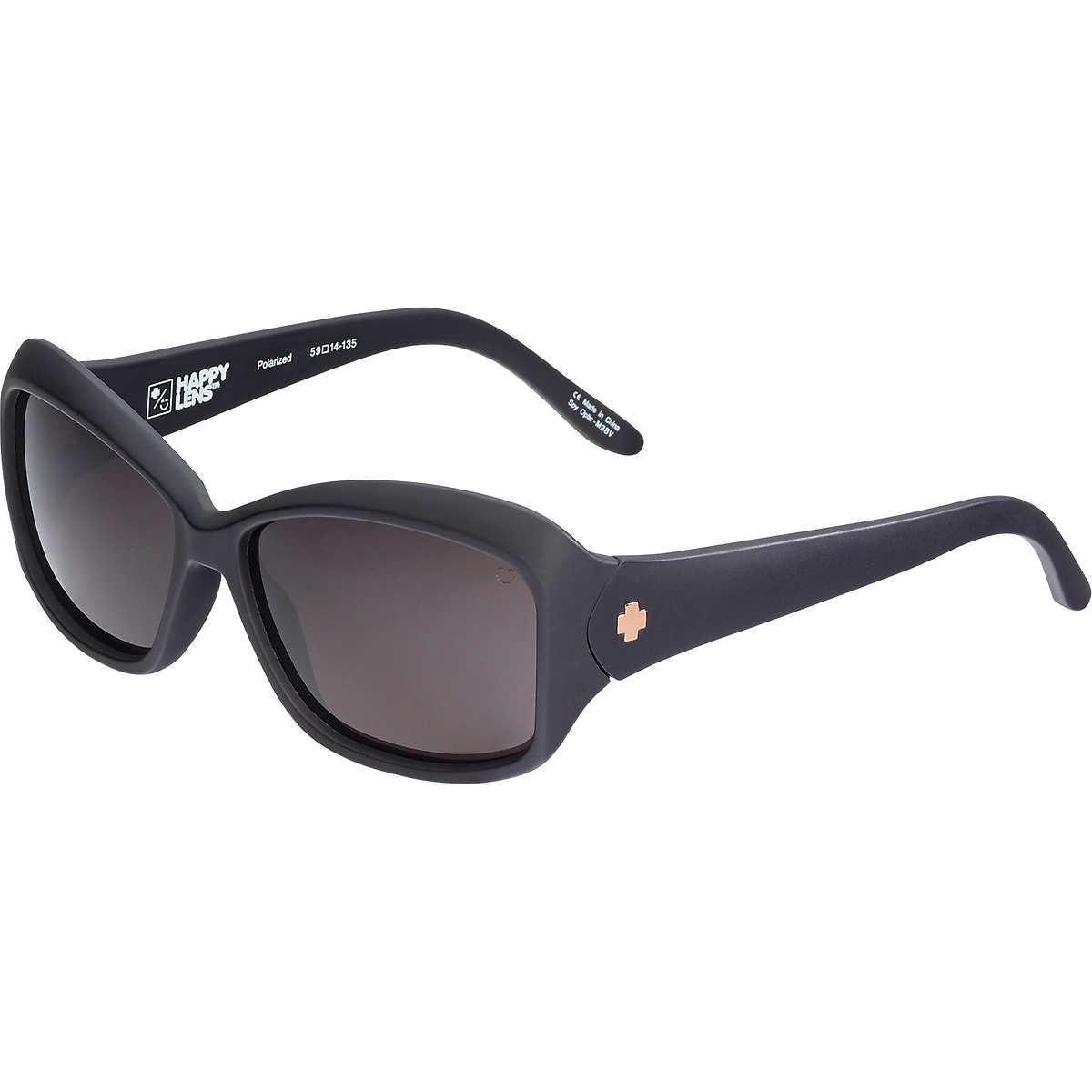 Spy Winnie Matte Black Polarized Sunglasses