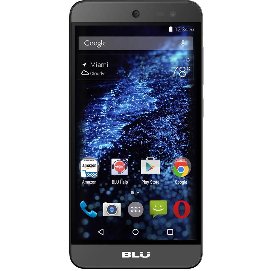Certified Refurbished BLU Life X8 L010Q GSM Smartphone (Unlocked), Black