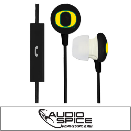 Oregon Ducks Ignition Earbuds + Mic