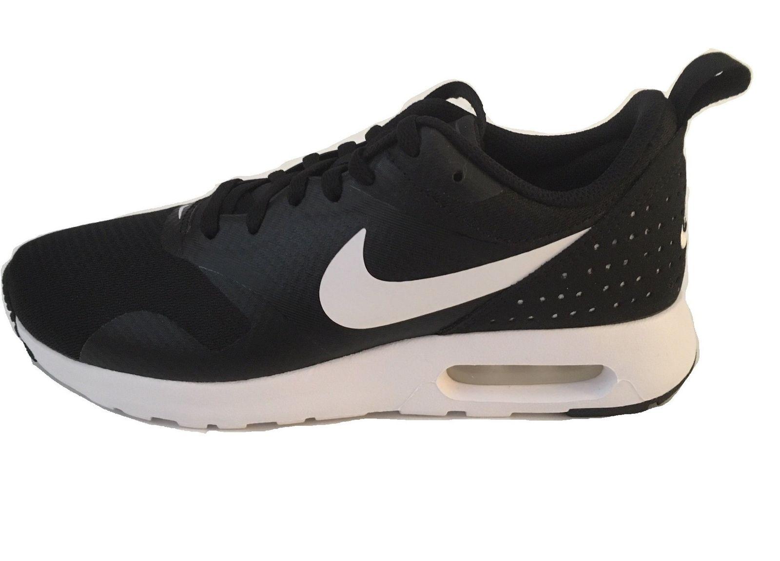 new style 45770 f5ef7 ... uk nike womens air max tavas running shoes black white 916791 001 size  7.5 bm 6124c