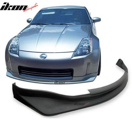 Compatible with 03-05 Nissan 350Z Coupe 2Dr JDM Urethane Front Bumper Lip Spoiler Nissan 350z Rear Spoiler