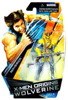 Marvel X-Men Origins Wolverine Maverick Figure by
