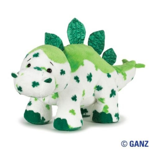 Webkinz Lucky Dino with Trading Cards