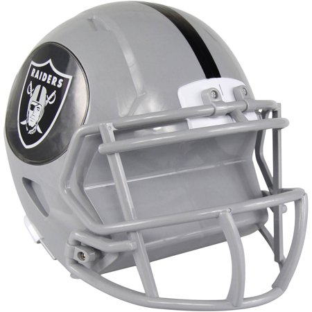 Forever Collectibles NFL Mini Helmet Bank, Oakland Raiders