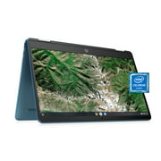 """HP 14"""" 2-in-1 Touch Teal Chromebook"""
