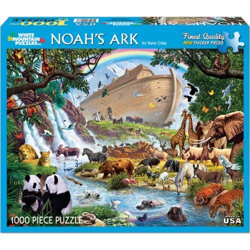 White Mountain Puzzles Noah's Ark Puzzle - 1000 Piece Jig...