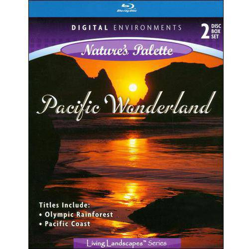 Living Landscapes: Pacific Wonderland Pacific Coast   Olympic Rainforest (Blu-ray) (Widescreen) by