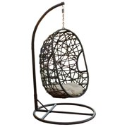 Swing Chair in Brown