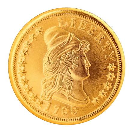 Gold Eagle 4 Piece - American Coin Treasures Small Eagle $10 Gold Piece 1795-1797 Replica Coin