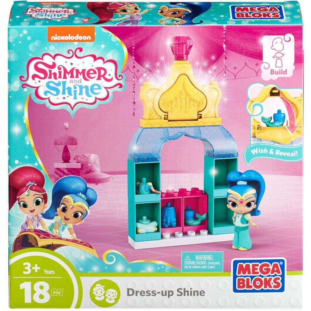 Mega Bloks Nickelodeon Shimmer and Shine, Dress-Up Shine by Mega Brands, Inc.