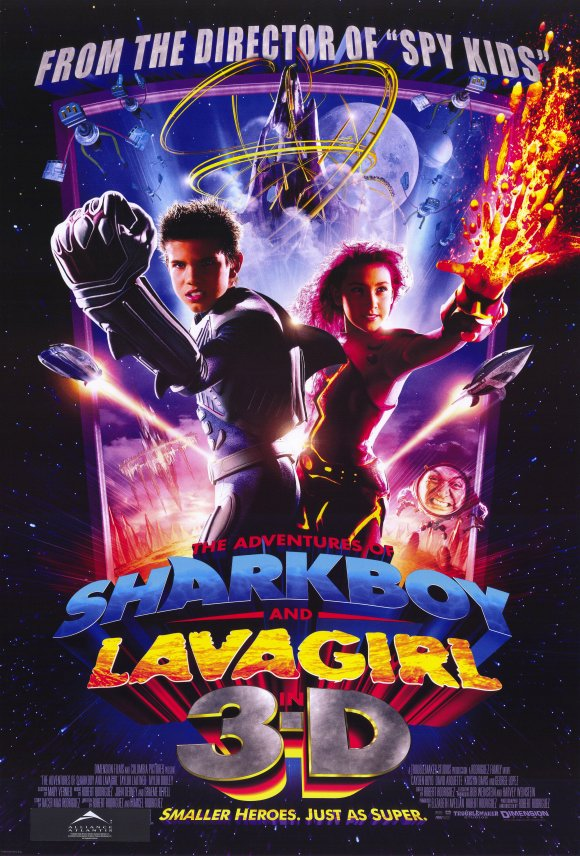 The Adventures of Shark Boy & Lava Girl in 3-D (2005) 11x17 Movie Poster by Pop Culture Graphics