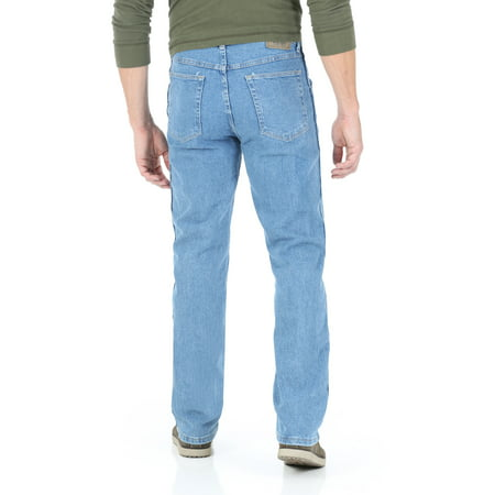 eaf82631 Wrangler - Big Men's Regular Fit Jeans with Comfort Flex Waistband -  Walmart.com