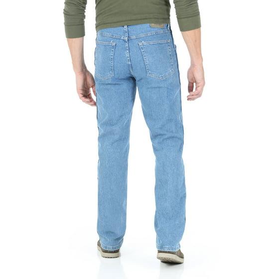 5757442d Wrangler - Big Men's Regular Fit Jeans with Comfort Flex Waistband -  Walmart.com