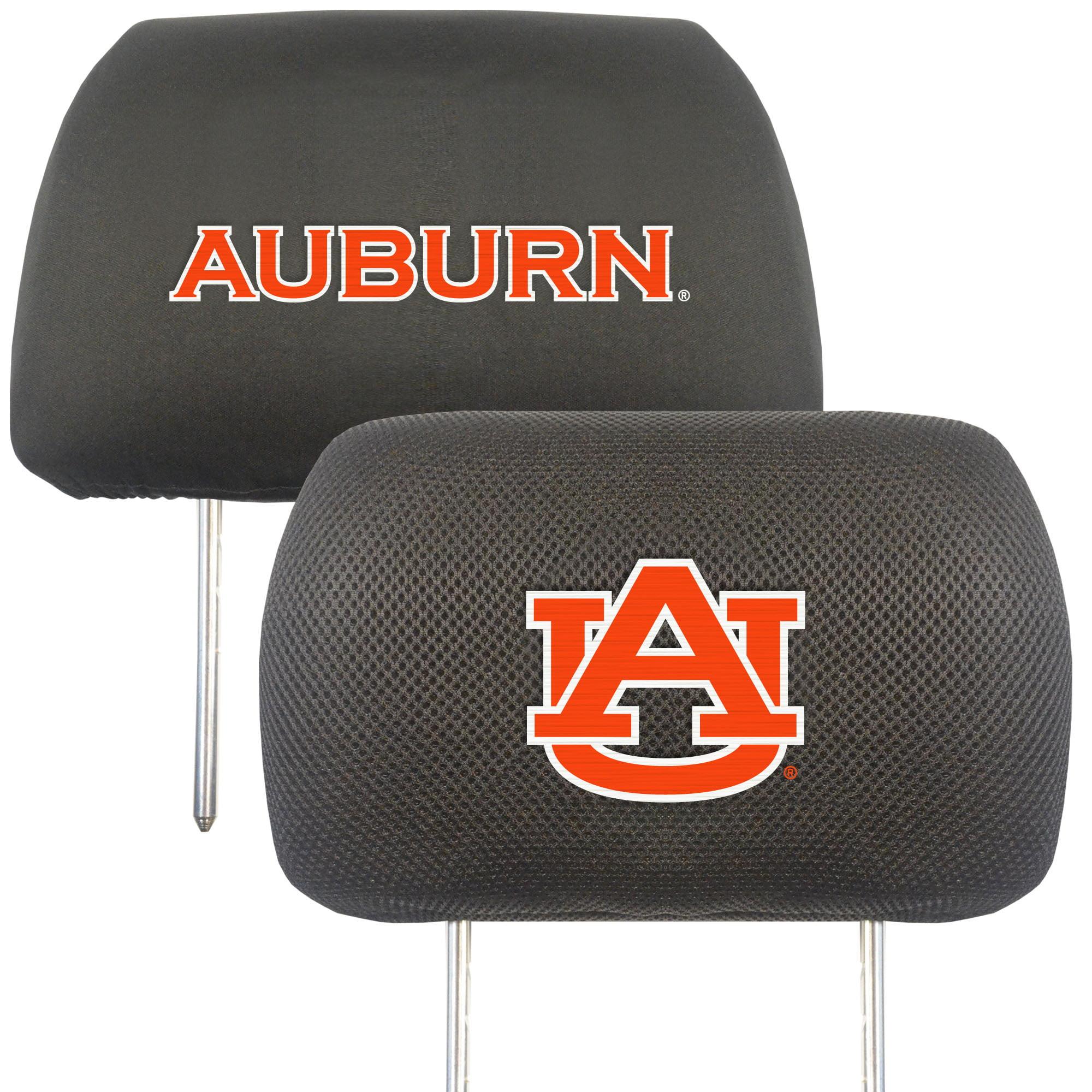 NCAA Auburn University Tigers Head Rest Cover Automotive Accessory