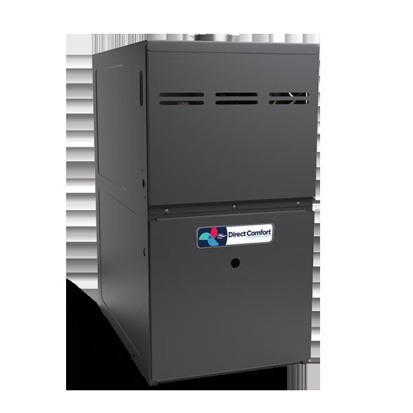 "HVAC Direct Comfort by Goodman DC-GMS Series Gas Furnace - 80% AFUE - 80K BTU - 1 Stage - Upflow/Horizontal - 21"" Cabinet"