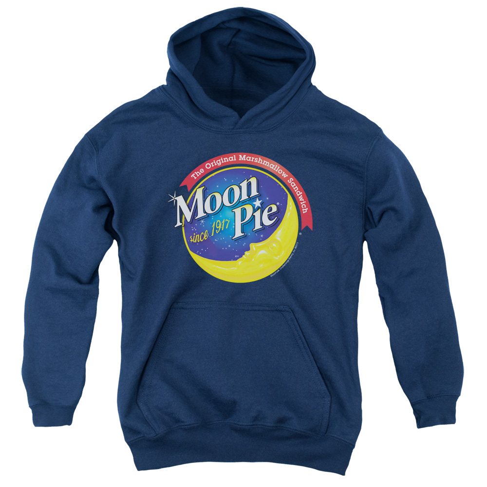 Moon Pie Current Logo Big Boys Pullover Hoodie