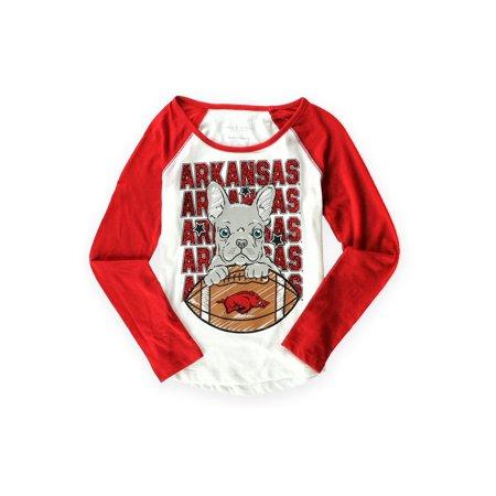 Arkansas Girl - Justice Girls Arkansas Spirit Graphic T-Shirt whitered 8 - Big Kids (8-20)