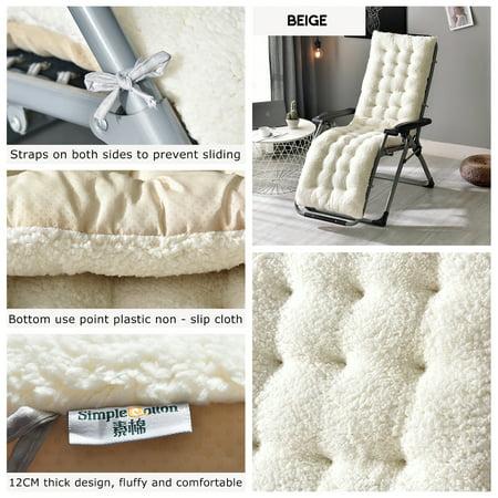 Chair Cushions Lounge Chair Cushion High Back Chair Cushion Rocking Chair Cushions Cover Tufted Deck Chaise Padding Fleece Mat For Winter Home Outdoor Garden Walmart Canada