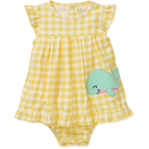 Child of Mine by Carters Newborn Baby Girls' Printed Sunsuit
