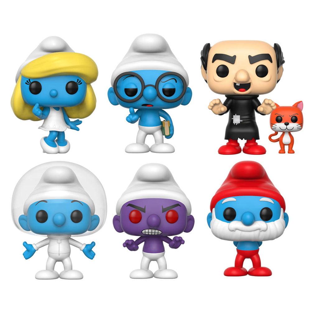 Funko Pop Animation Brainy Smurf Toy