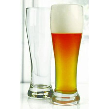 Basic Pilsner Beer Glassware Set of 4, 16oz by