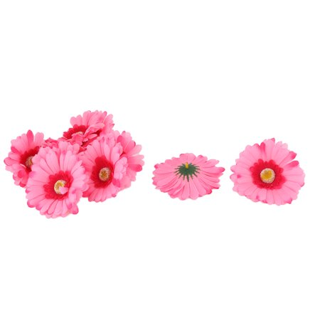 Wedding Fabric Handicraft DIY Decoration Table Desk Flower Heads Pink 10 Pcs Diy Wedding Table