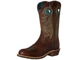 "Ariat 10015327 Shadow Rider Cowboy 11"" Pull On Cowboy Rider Boot 6d42db"