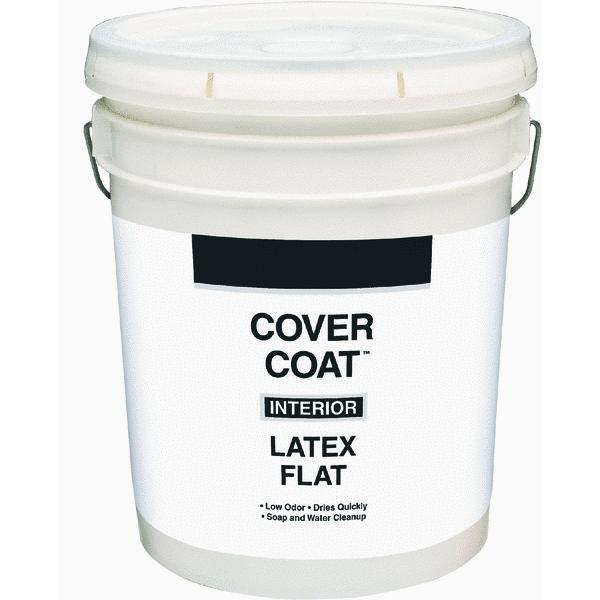 Cover Coat Latex Flat Exterior House Paint