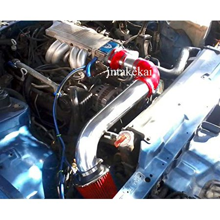 1981 Pontiac Phoenix Engine (1990 1991 1992 PONTIAC FIREBIRD 5.0 5.0L 5.7 5.7L V8 ENGINE AIR INTAKE KIT SYSTEMS (RED))